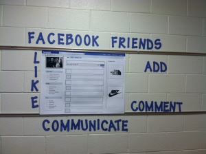 FB Wall with FB Vocabulary